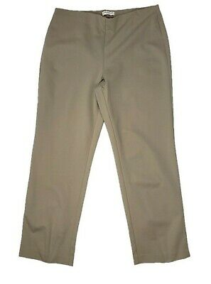 Coldwater Creek Classic Fit Women's Pull On Pants Beige / Tan Size Large NWOT