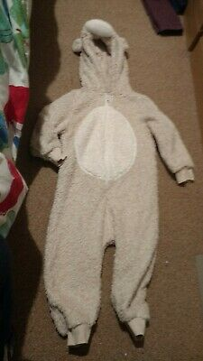Girls NEXT Furry Animal Onesie (not Gerber)  Age 2-3 Years dressing gown