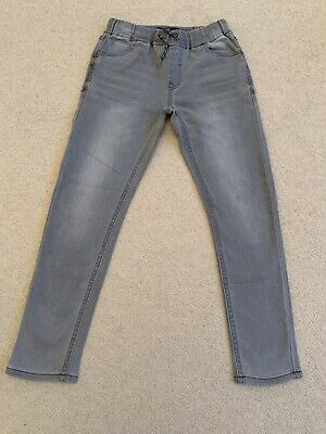 Grey Skinny Fit Jeans Boy Age 10 Years Next