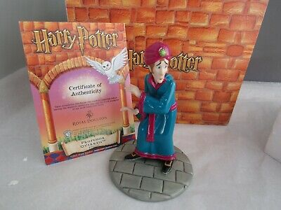 HARRY POTTER ROYAL DOULTON PROFESSOR QUIRRELL HERMIONE STUDIES WALL PLATE