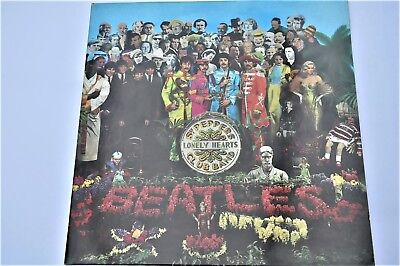 Beatles Sgt Peppers Lonely Hearts Club Band Stereo 1967 Gate Fold LP PCS 7027