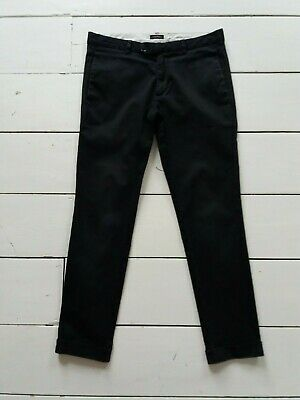 River Island Black Slim fit Cropped Chinos - Age 12/13 approx Size W26/30L