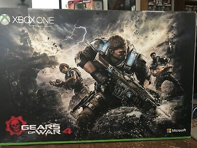 xbox one 2tb Gears Of War 4 Bundle With Xbox Live 1 Year Membership