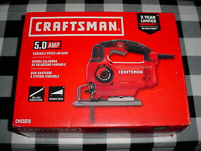 "Craftsman Professional 9-64380 4/"" Bimetal Jigsaw Blades for Wood 10 TPI 5 Pack"