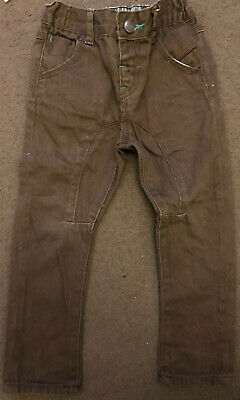 Next Brown Boys Cordroy Trousers Size 2-3 Years