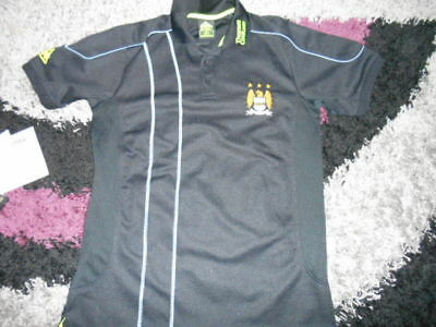 Manchester City  Fc  Le Coq Sportif  Football  Top.   .Size L  42  Inch Chest..