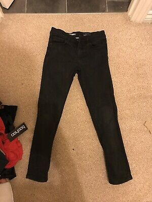 Boys next skinny black jeans - age 9