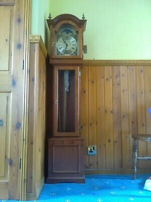 Grandmother Clock, Pine Effect, Chimes