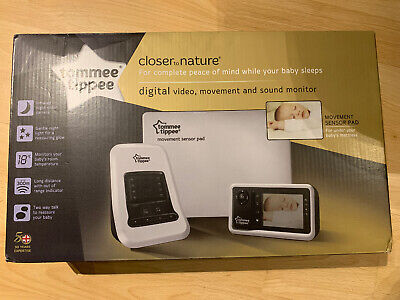 BRAND NEW Tommee Tippee Digital Video, Movement & Sound Monitor - Unopened