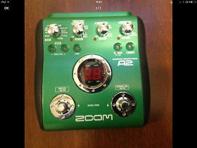 ZoomA2 Acoustic Guitar Multi-Effects Pedal