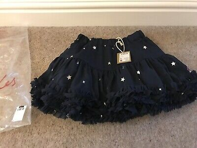 Joules Girls Lillian Navy Star Skirt, Age 6 - Brand New With Tag