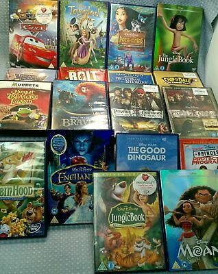 Job Lot Of Childrens, Family DVD 18 x Various Titles/Ratings #101