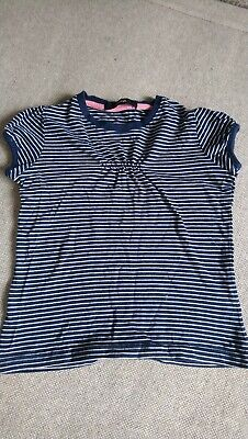 Girls George blue stripey top 4-5 years. Smoke pet free home good condition