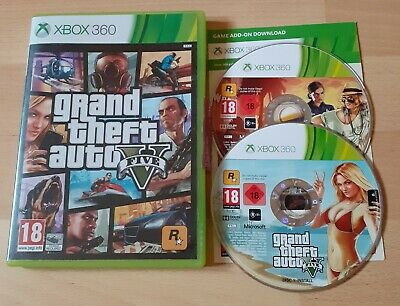 Microsoft Xbox 360 PAL Game - Grand Theft Auto V - GTA 5