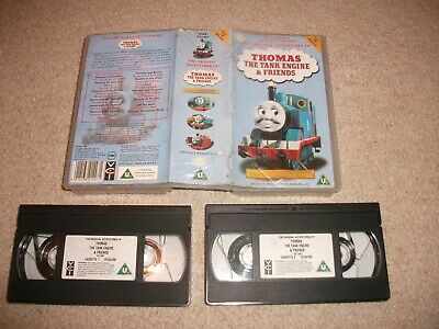 Thomas The Tank Engine And & Friends Complete First Series 1 Double Vhs Video