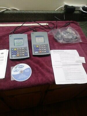Hach H260g benchtop Multi Meter for PH mV ISE lot of 2 meter working