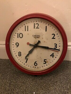 Vintage Bakelite SMITHS-SECTRIC Clock vintage industrial wall clock
