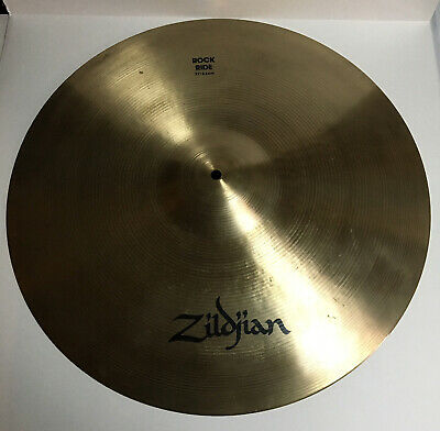 Zildjian, 21 Inch Rock Ride Cymbal Excellent Condition