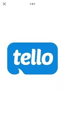 Tello Mobile 10$ Referral code P3GBXBF7 No Purchase required - For New Users