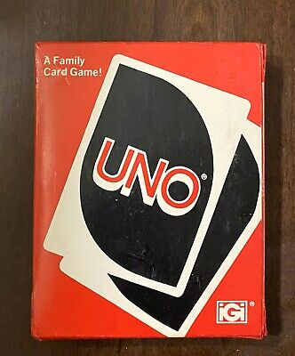 Vintage 1979 Original UNO Game 108 Card Deck Complete w/ Instructions Great Cond