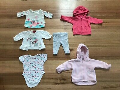 23 items of baby girl's clothing - price is for the lot