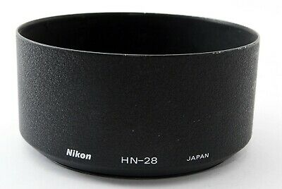 【Near MINT】 Nikon HN-28 Metal Lens Hood For AF Nikkor 80-200mm F2.8 D JAPAN #725