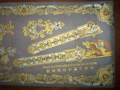 NOS SINGER Sewing Machine Decal Set SPHINX for Model 15 & Full Size Models