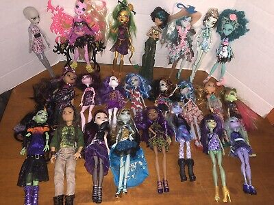 Huge Monster High Doll Lot With Accessories Estate Item 23 Dolls, Clothing Shoes