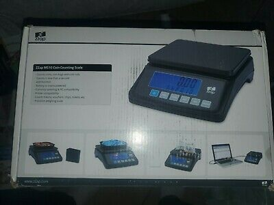 ZZap MS10 Coin Counting Scale - *DEVICE ONLY* (Scale Tray Isnt Included)
