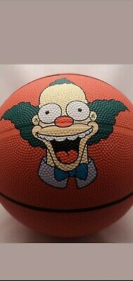 The simpsons Univeral Studios 2013 Limited Edition Krusty full sized basketball