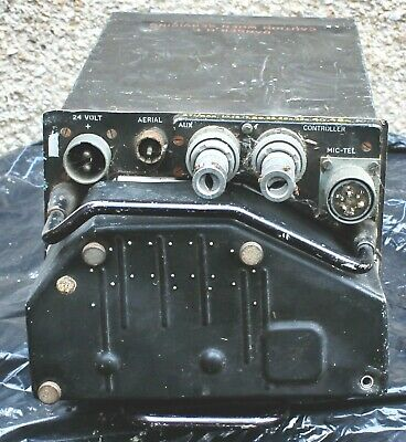 RAF Aircraft Radio VHF Transmitter Receiver Type TR1934 - 10 channel - 1950's