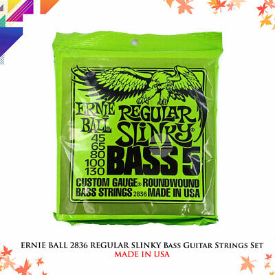 ERNIE BALL 2836 REGULAR SLINKY Bass Guitar Strings Set