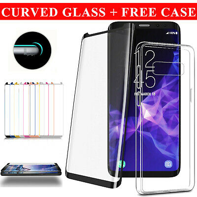 10D Full Cover Tempered Glass Screen Protector For Samsung Galaxy S10 S9 S8+ S7