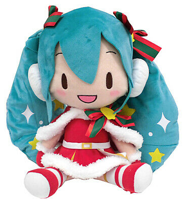 "Vocaloid Hatsune Miku Christmas 2019 Special Character 11"" Plush Toy Soft Doll"