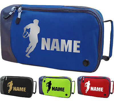 Personalised Rugby Boot Bag Childrens Sports PE Kit Kids Football Gift
