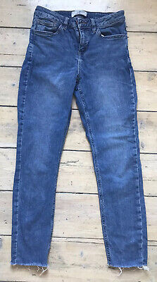 Girls Skinny Jeans New Look 915 Generation Age 13 Years Blue Denim VGC