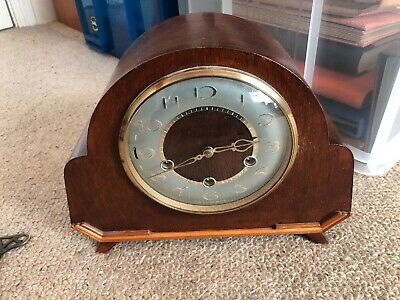 Smiths Westminster Chime Mantel Clock . Working