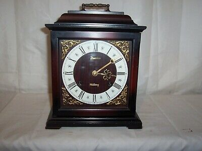 Lovely Striking President 30 Day Mantle,Bracket Clock With Platform Escapement