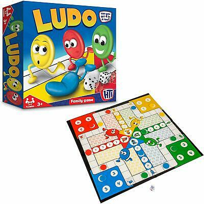 HTI Toys Traditional Games Ludo Family Board Game Set