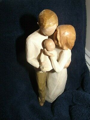 "Willow Tree.... "" OUR GIFT ""  Lovely  FAMILY  Figurines- see photo's"