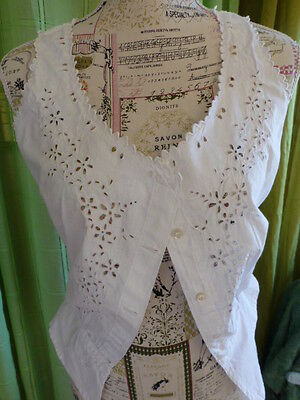 New T 2 Never Worn all Embroidered Hand, Mono on Basque J P