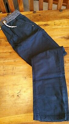 Boys Next Chinos, Navy Blue , Pull On, 11 Years 146 Cm,Great Condition