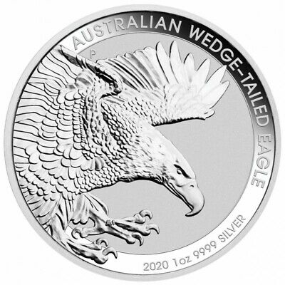 AUSTRALIE 1 Dollar Argent 1 Once Wedge 2020