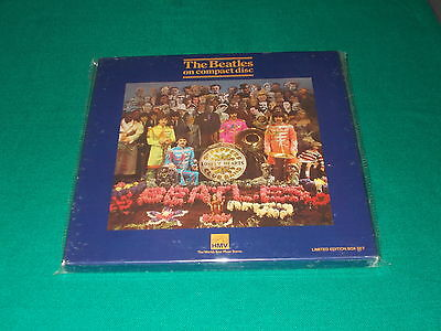 The Beatles Sgt. Pepper's Lonely Hearts Club Band Hmv Box Set