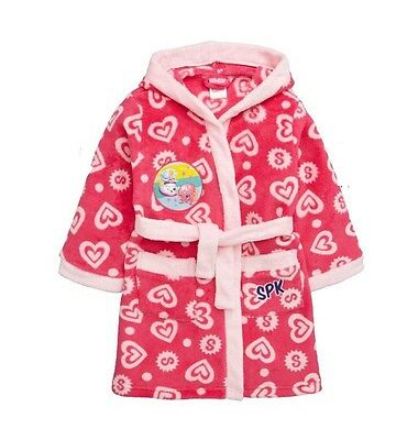 BNWT Girls Shopkins Bath Robe/Dressing Gown 4-5 Years Old