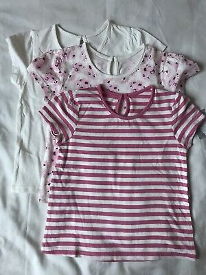 BNWT Matalan 3 Pack Girls Top Age 2-3 Years Old