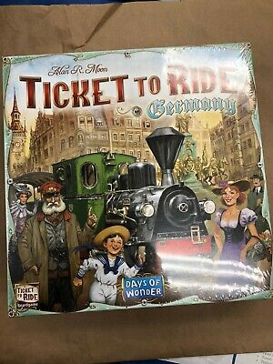 Days of Wonder Ticket To Ride Germany, Train Adventure Board Game
