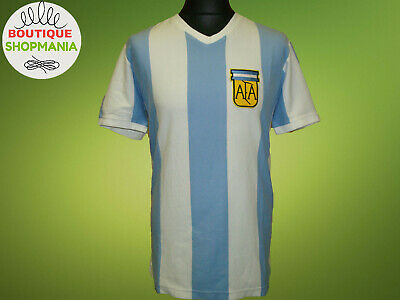 New ARGENTINA National 1977/78 L COPA Retro Replica FOOTBALL SHIRT Jersey Soccer