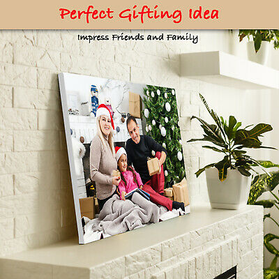 Personalised Canvas Print. Your Photo/Image Printed & Box Framed