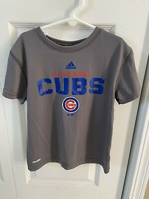 Chicago Cubs Adidas T-Shirt Youth Size 5-6 Boys-Girls Cubs T-Shirt Climalite